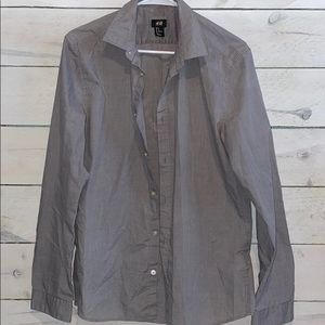 Men's Sz M H&M Button Up